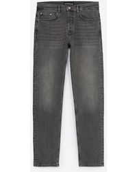 The Kooples Slim-fit Faded Gray Jeans