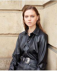 The Kooples Black Shirt - Zwart