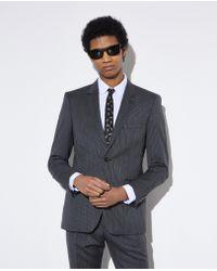 The Kooples - Slim-fit Grey Wool Jacket - Lyst
