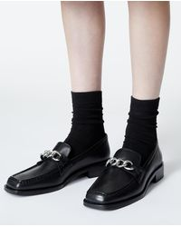 The Kooples Zwarte Loafers