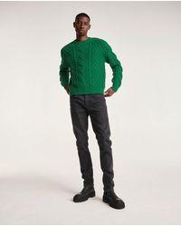 The Kooples Jean noir délavé coupe slim à poches - Multicolore