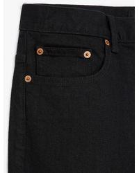 The Kooples Zwarte, Onbewerkte Skinny Jeans Zilverkleurige Sierspijkers