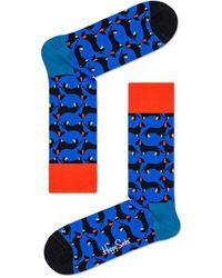 Happy Socks Dog Socks Blauw - Blue