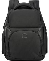 Delsey Quarterback Premium Backpack 13.3 Inch Zwart - Black