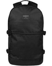 Sandqvist Backpack Peter 13 Inch Zwart - Black