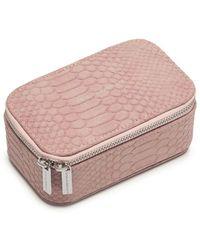 Estella Bartlett Mini Jewellery Box Snake - Pink