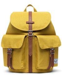 Herschel Supply Co. Dawson Small Arrowwood Crosshatch - Yellow