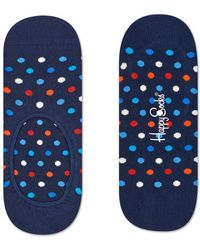 Happy Socks Dot Liner Socks - Maat 41/46 Zwart - Black
