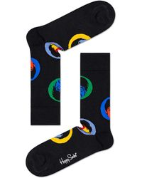 Happy Socks Beatles Bright Spot Socks Zwart - Black
