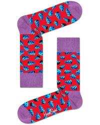 Happy Socks Cheese Socks Rood - Red