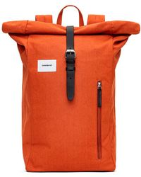 Sandqvist Backpack Dante - Orange