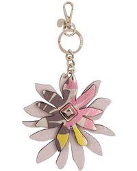 Guess | Devyn Flower Keychain | Lyst