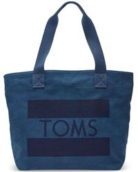 TOMS - Flag Tote - Lyst