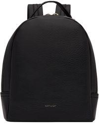 Matt & Nat Olly Dwell Backpack Zwart - Black