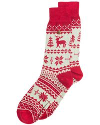 Alfredo Gonzales Northern Pixels Reindeer - Red