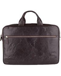 Plevier Laptop Bag 604 14 Inch Donkerbruin - Brown