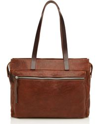 Castelijn & Beerens Marike Shoulderbag 13.3 Inch Light - Brown