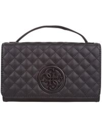 671c3c33c8bd Guess - G Lux Mini Wallet On A String - Lyst