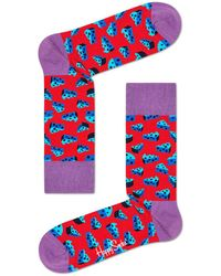 Happy Socks Cheese Socks Rood - Red