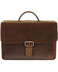 Plevier Laptop Bag 553 Bruin - Brown