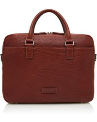 Castelijn & Beerens Exclusive Laptop Bag 15.6 Inch + Tablet Mahonie - Brown