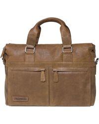 Plevier Laptop Bag 472 15.6 Inch Cognac - Brown