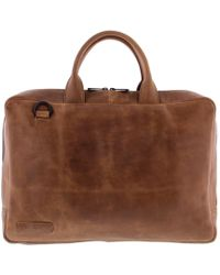 Plevier Laptop Bag 714 15.6 Inch Cognac - Brown