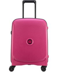 Delsey Belmont Plus Spinner 55 Cm Roze - Pink