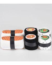 Doiy. Sushi Socks Salmon Lovers - Orange