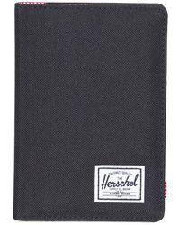 Herschel Supply Co. Raynor Passport Holder Zwart - Black
