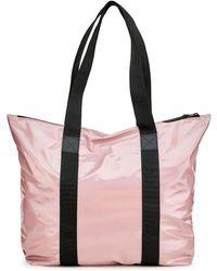 Rains Holographic Tote Bag Rush - Pink
