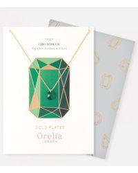 Orelia - May Birthstone Gift Envelope - Lyst