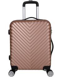Valentino Stripe Suitcase Petite - Pink