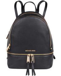 Michael Kors Rhea Zip Medium Backpack Zwart - Black