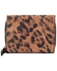 Liebeskind Berlin Dive Leopard Pablita Wallet - Brown