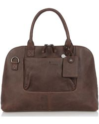 Castelijn & Beerens Carisma Laptop Bag 13.3 Inch Mocca - Brown