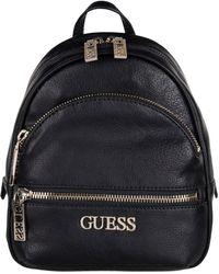Guess Manhattan Small Backpack Zwart - Black