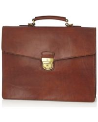 Castelijn & Beerens Dutch Masterpiece Laptop Bag 15.4 Inch Cognac - Brown