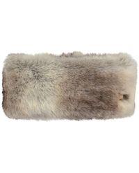 Barts Fur Headband - Brown