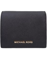 Michael Kors - Jet Set Travel Carryall Card Case - Lyst
