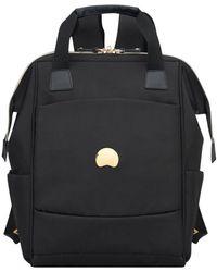 Delsey Montrouge Backpack Laptop 13 Inch - Black