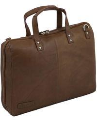 Plevier Tablet Laptop Bag 802 15.6 Inch - Brown