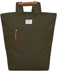 Sandqvist Backpack Tony 13 Inch Olijf - Green