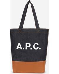 A.P.C. - Axel Shopping Bag - Lyst