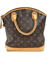 Louis Vuitton Monogram Canvas Lockit Pm Bag - Brown