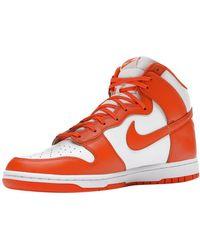 Nike Dunk High Syracuse Sneakers - Orange