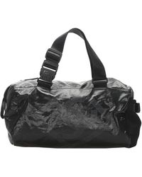 Chanel Black Sports Line Nylon Duffle Bag