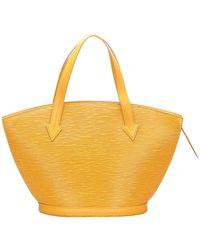 Louis Vuitton Yellow Epi Leather Saint Jacques Short Strap Pm Bag