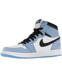 Nike Jordan 1 University Blue Sneakers