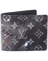 Louis Vuitton Grey Galaxy Monogram Canvas Multiple Bifold Wallet - Gray